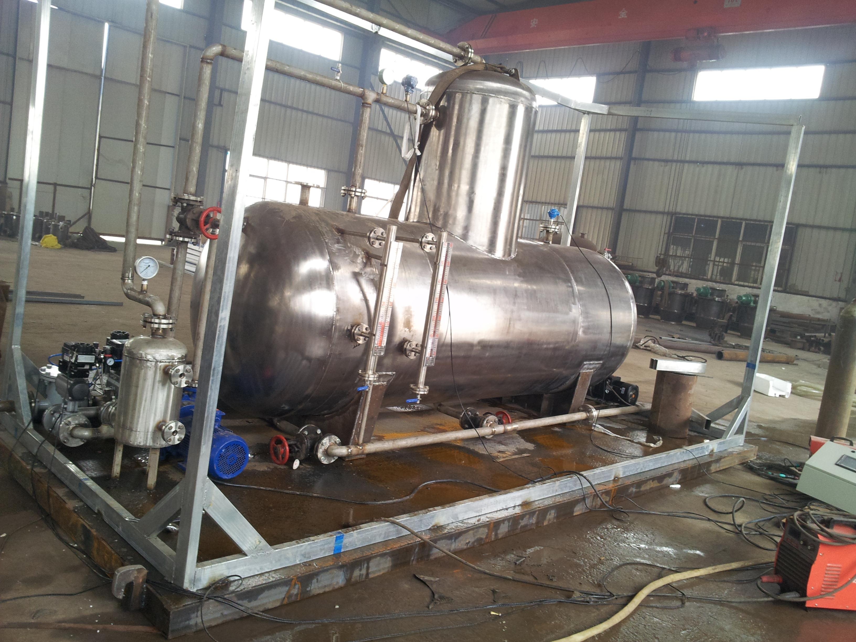 锅炉除氧器的正确安装方法